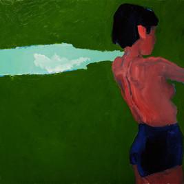ЛЕТНЕЕ ВРЕМЯ, 20200603-4 холст, масло oil on canvas 70 x 80