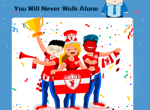 You Will Never Walk Alone,利物浦為你打氣