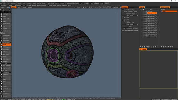 3dcoat Retopology, VFX compositing