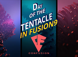 BMD Fusion animating a tentacle, Animation Basics, Tutorial