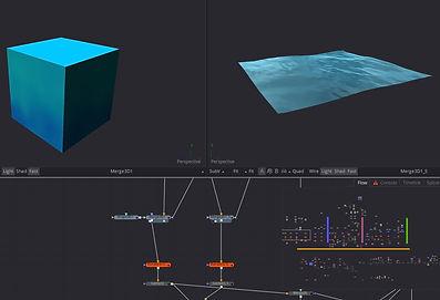 Fusion Water shader