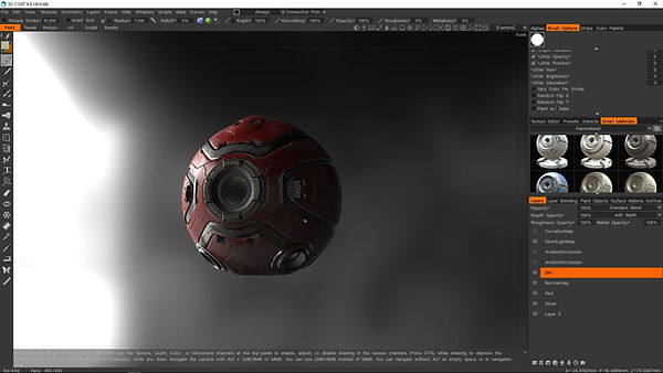 3dcoat texture workflow, VFX compositing