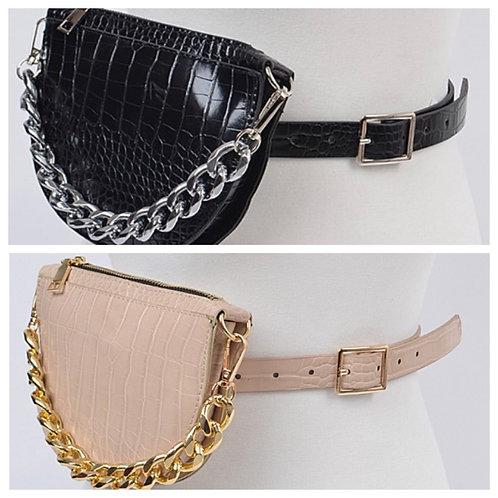 Croc Effect | Belt Bag