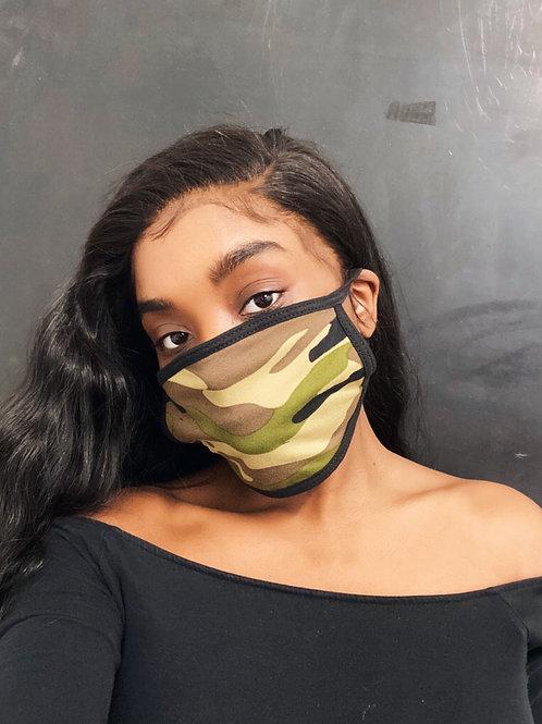 Camouflage | Face Mask