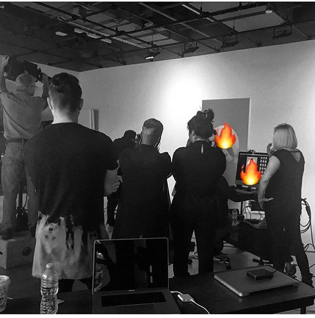 BTS at the _american_salon  photoshoot i