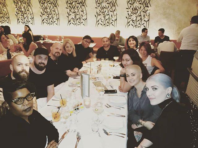 Dinner with the Sebastian squad. Dopenes