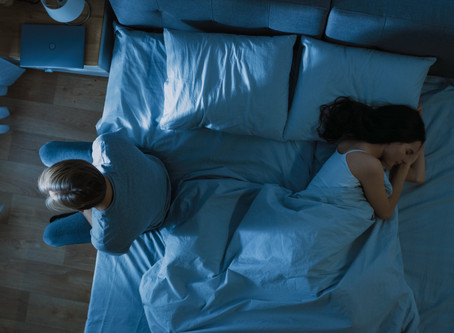 Is sleep the only thing happening in the bedroom? By Lee Watson & Gaia Morrissette