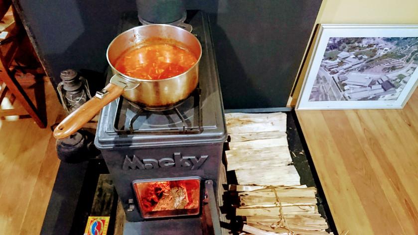 温かいスープ *里山の暮らし*