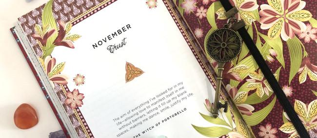 11月のカードを更新しました*今月のあなたの心*