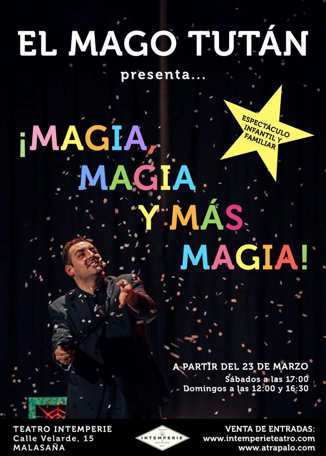 El Mago Tutan en Madrid