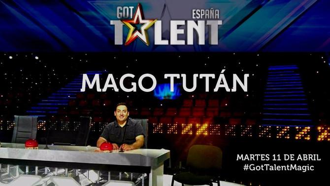 ¡Vuelvo a Got Talent el próximo viernes 14 de abril!