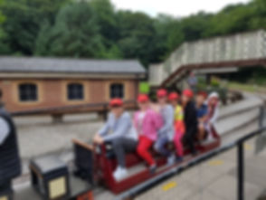 Our visitors at Abbeydale Miniature Trains