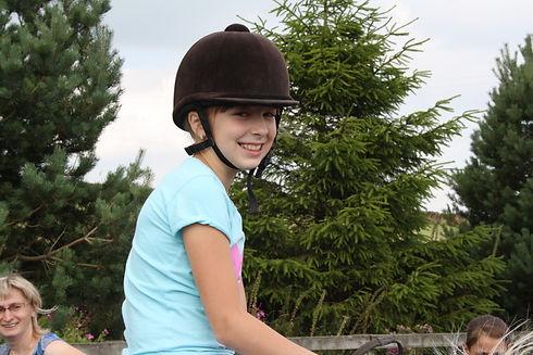 Pony rides at the Eco Farm