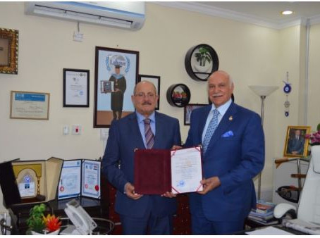 Mr. Majid Khalil and Dr. Moyasser Saddiq