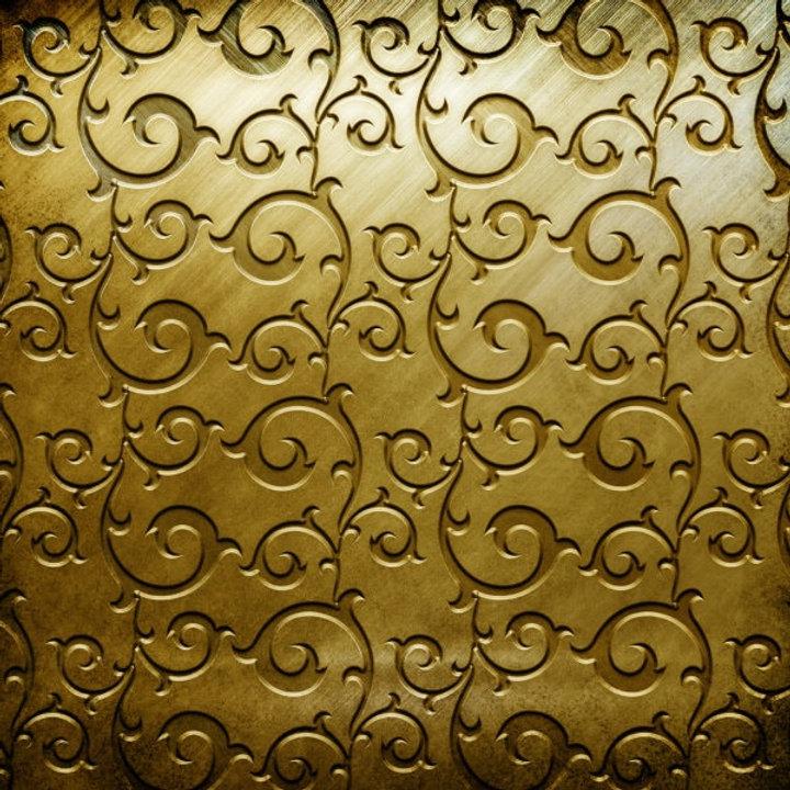 A-golden-Tongban-pattern-carve-HD-pictur