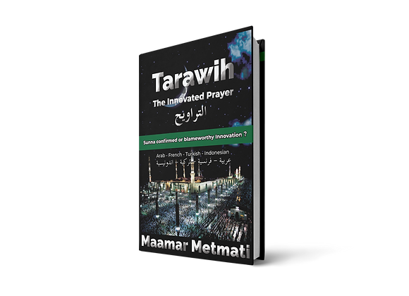 Tarawih : The Innovated Prayer