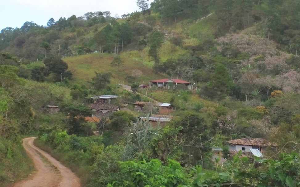 The village of Titoror, Honduras