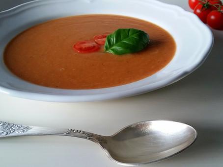 Krem pomidorowy z dynią (273 kcal)