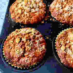 Bezglutenowe muffiny marchewkowe