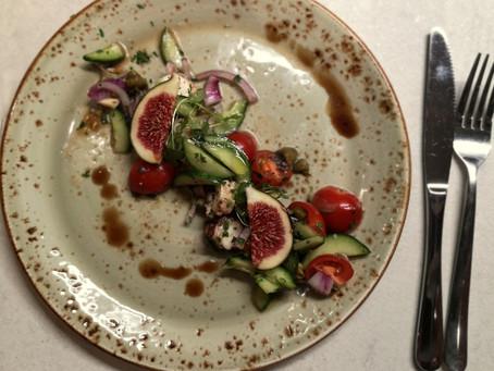 Sałatka z ośmiornicą (254 kcal)