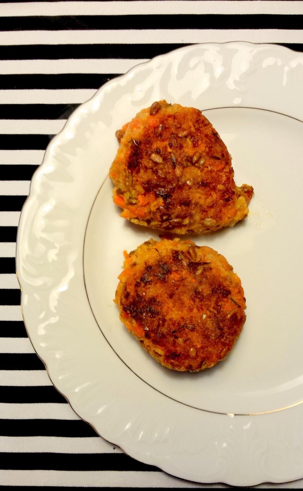 Burgery marchewkowe