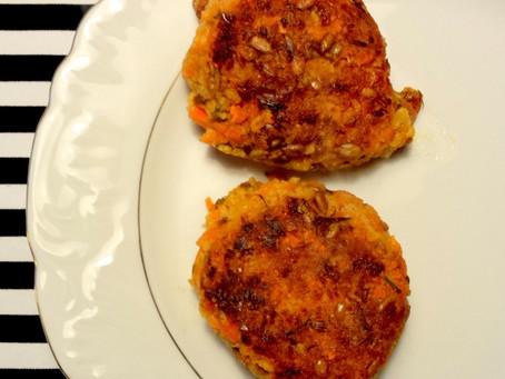 Burgery marchewkowe (346kcal)