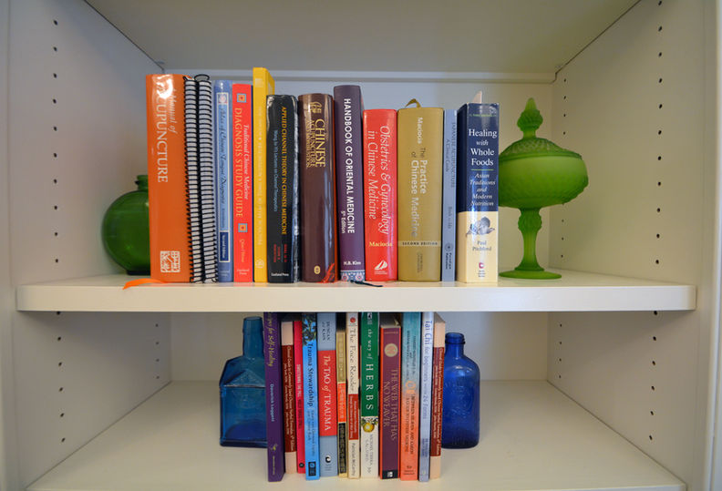 Books and Traditional Chinese Medicine information at Hidden Root Acupuncture
