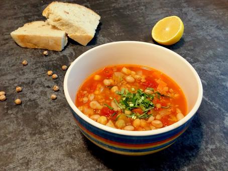 Marokańska zupa harira (285 kcal)