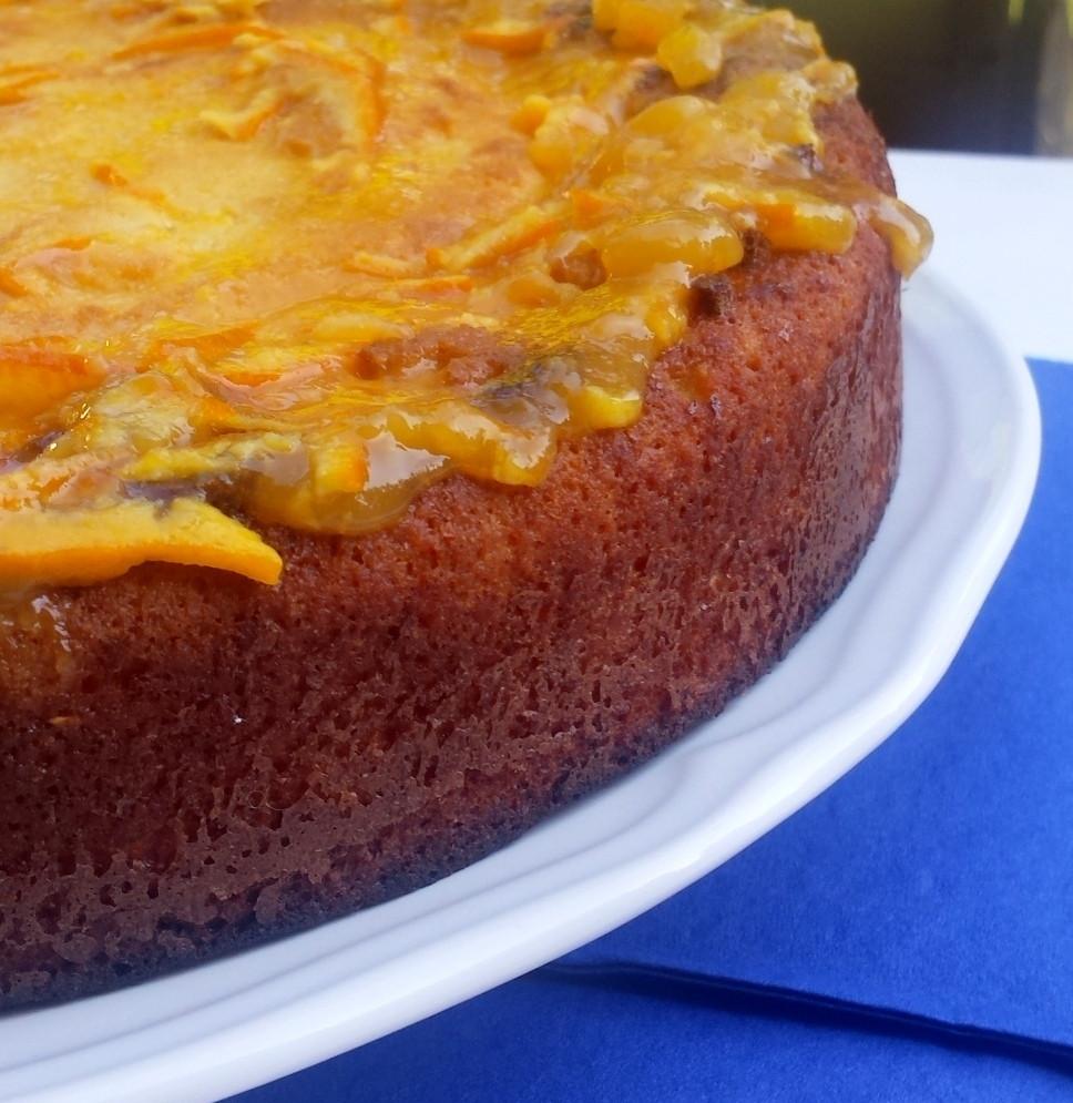 Ciasto pomarańczowo- migdałowe