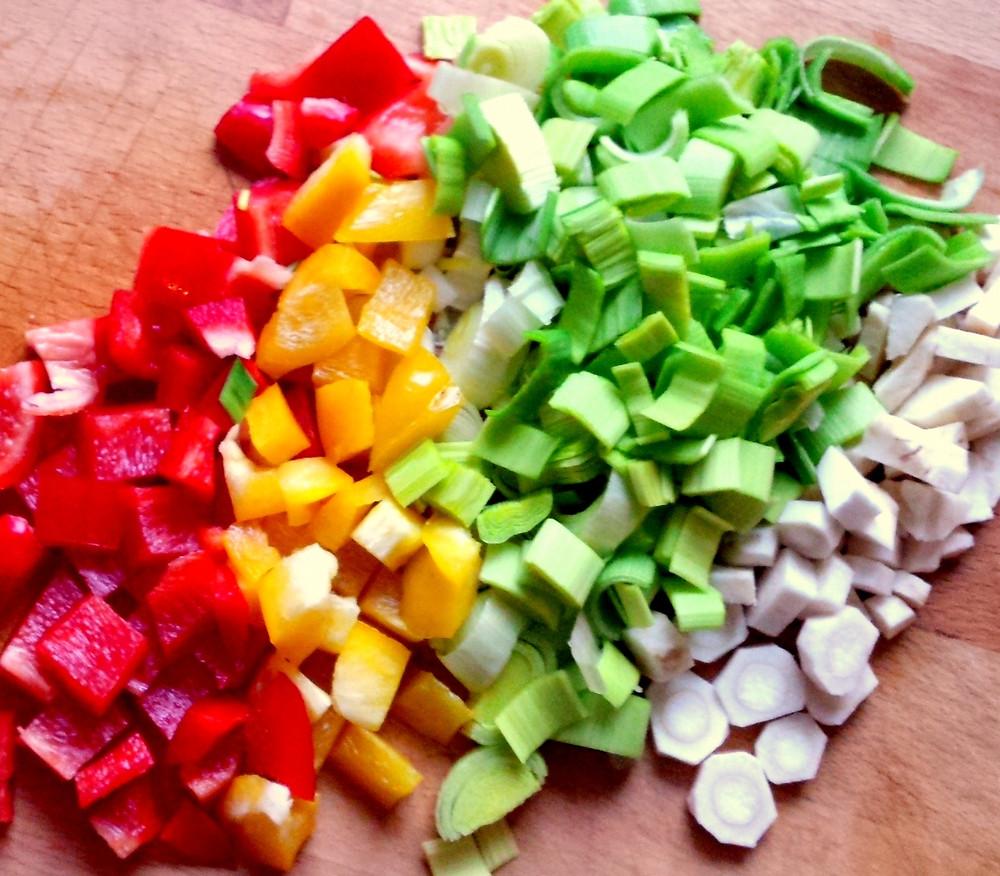 Witaminy w warzywach