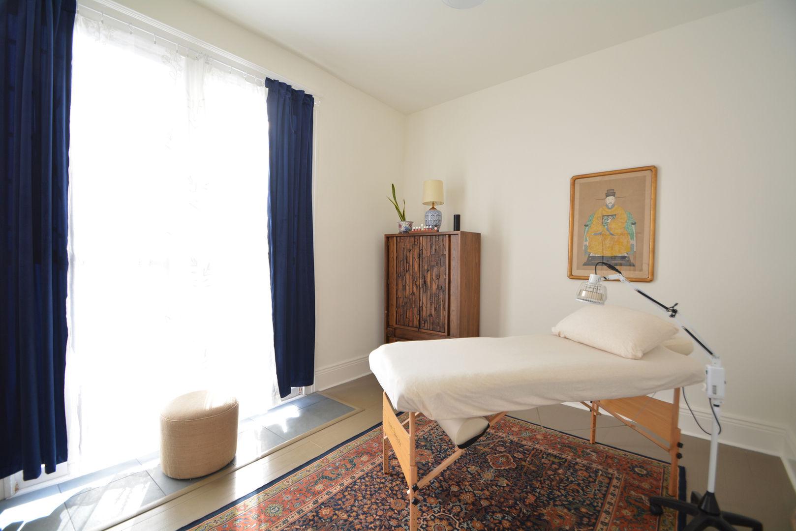 Acupuncture Treatment Room #1