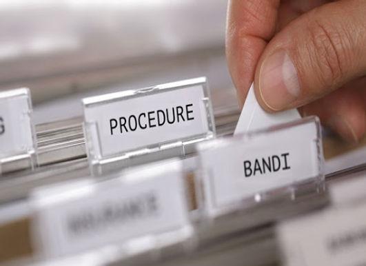 Il flusso procedimentale della procedura di gara di LAVORI, FORNITURE SERVIZI