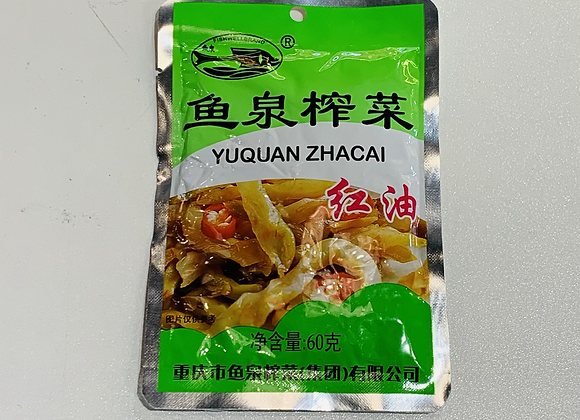 鱼泉红油榨菜 60g