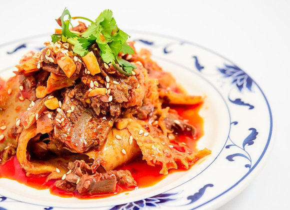 夫妻肺片 Sliced Beef and Ox Tongue in Chili Sauce