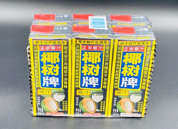 椰树牌椰子汁(盒装)6x245ml YS Coconut Juice Drink