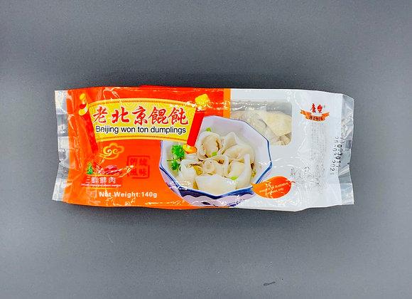 康乐老北京馄饨-三鲜鲜肉 140g Honor Wonton-Pork with Prawn Egg & Chives