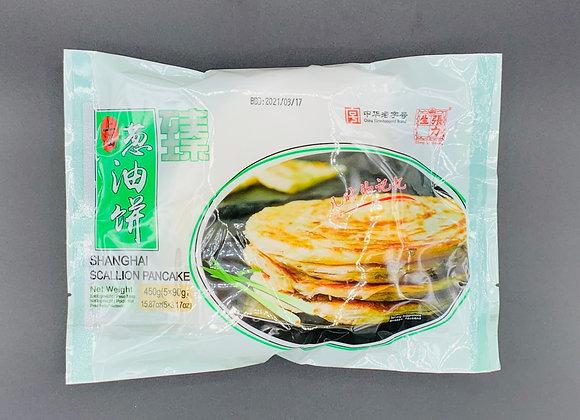 张力生老上海葱油饼450g ChangLiSheng Shanghai Scallion Pancake