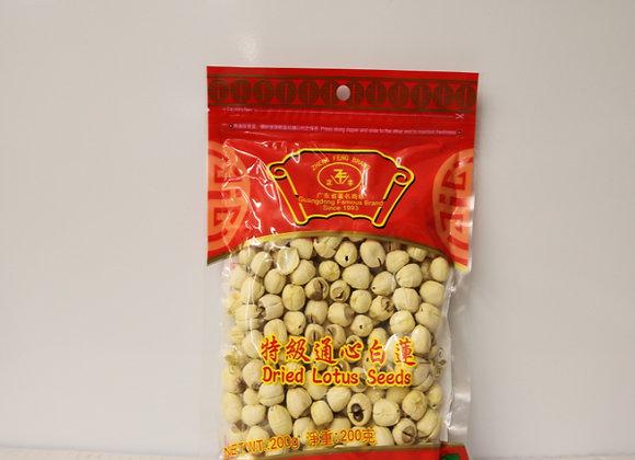 正丰通心白莲  200g ZF Dried Lotus Seeds