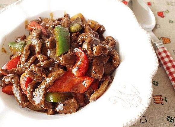 铁板黑椒牛柳 Black Pepper Beef