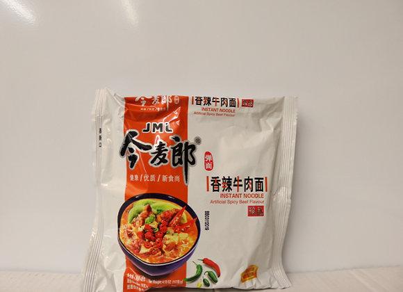 今麦郎香辣牛肉面 117g JML Instant Noodles-Spicy Beef