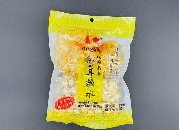 康乐桂圆南杏雪耳糖水150g HR White Fungus with Longan Mix