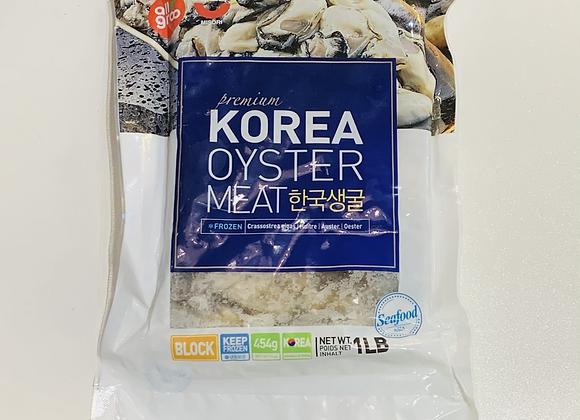 雪藏牡蛎(生蚝)454g GMF Frozen Oyster Block(24ea)
