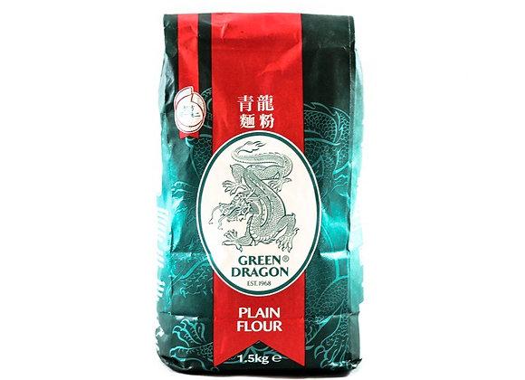 青龙面粉 1.5kg Green Dragon Plain Flour