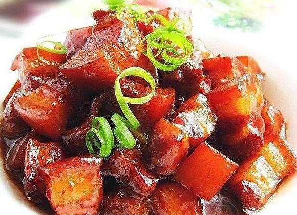 红烧肉 Red Braised Pork Belly