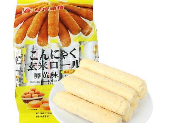 北田蒟蒻糙米捲-蛋黄 160g PT Konjac Brown Rice Roll-Egg Yolk
