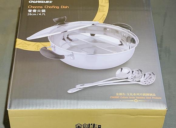 创生火锅边炉~隔煲 28cm CS Hot Pot Split pan