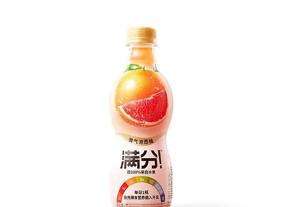 元气森林满分微气泡果汁-西柚味 380ml GKF Carbonated Juice Drink-Grapefruit
