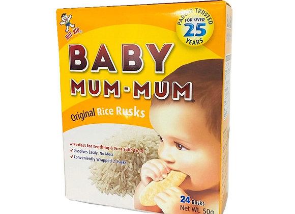 旺旺贝比玛玛米饼-原味50g WW Baby Mum Mum-Original