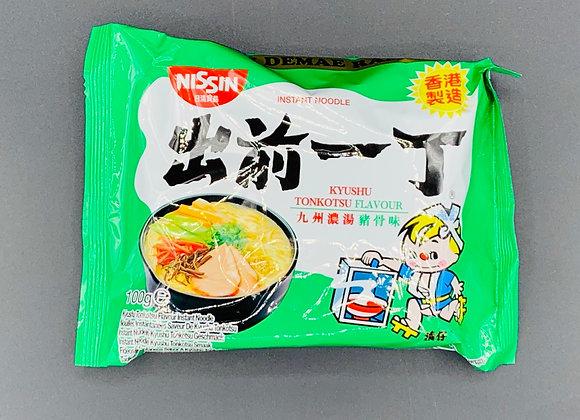 出前一丁九州浓汤猪骨味100g Demae Ramen-Tonkotsu Flavour