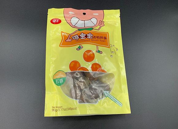 神丹馋宝宝卤鹌鹑蛋-五香 90g SD Marinated Quail Eggs-Five Spice